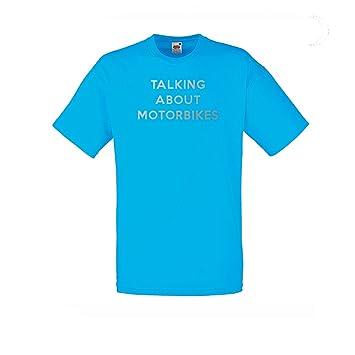 Camiseta de Moto reflectantes para hombre o señoras moto Top hablando de motos en reflectante luz