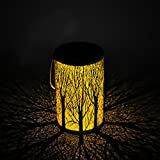 Solar Lantern for Outside,Yokunat Solar Path LED Light Outdoor for Lawn/Yard/Walkway/Driveway Tree Shape Lante