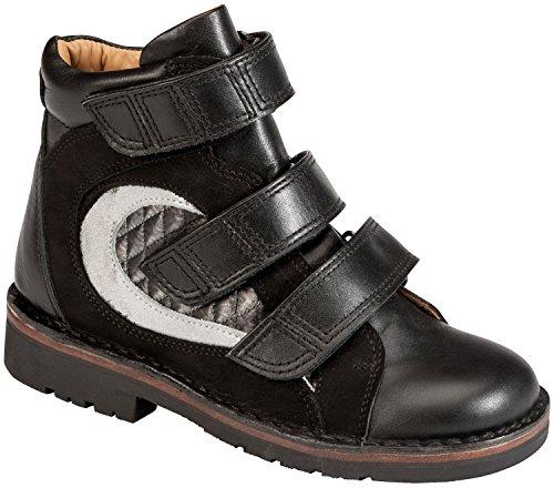 Piedro ortopédico de conceptos de los niños calzado-Modelo s25005 negro