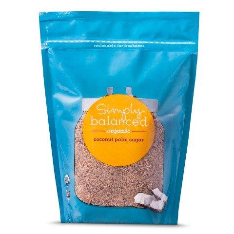 Simply Balanced Organic Coconut Palm Sugar 16 Oz Bag