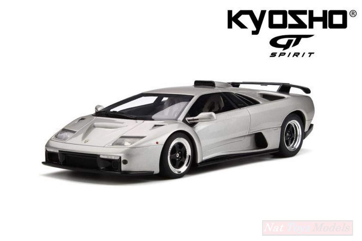 a la venta NEW NEW NEW GT Spirit GTS18507S Lamborghini Diablo GT Titanium Met.1:18 MODELLINO Die Cast  compras en linea