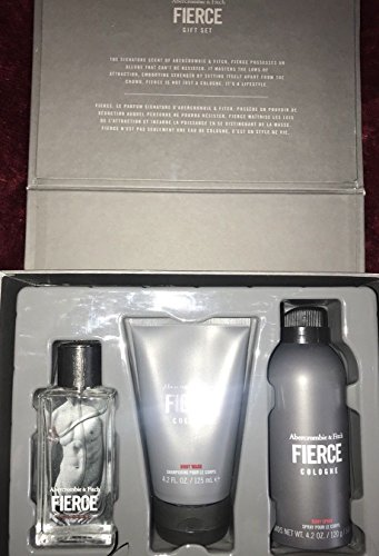 Abercrombie & Fitch Fierce Eau de Cologne Gift Set for sale  Delivered anywhere in USA