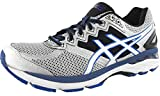 ASICS Men's GT 2000 4 Running Shoe, Silver/White/Royal, 11 M US