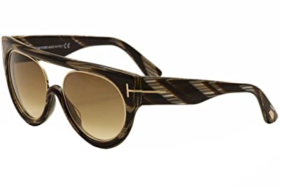 0aa99277e7 Image Unavailable. Image not available for. Color  Tom Ford Alana FT0360  63F Sunglasses ...