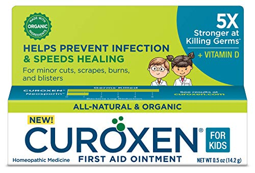 CUROXEN All-Natural & Organic First Aid Ointment for Kids with Vitamin D ()