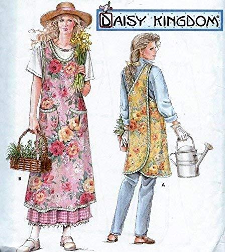 Simplicity Pattern 7481 Apron Daisy Kingdom Sewing ()