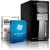 shinobee Flüster-PC Quad-Core Office/Multimedia PC 3 Jahren Garantie! inkl. Windows7 Pro - Intel Quad Core 4x2.41 GHz, 8GB RAM, 500GB HDD, Intel HD Graphics, HDMI, VGA, DVD±RW, Office, USB 3.0#4848