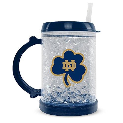 Notre Dame Fighting Irish Freezer Mug, Notre Dame Crystal