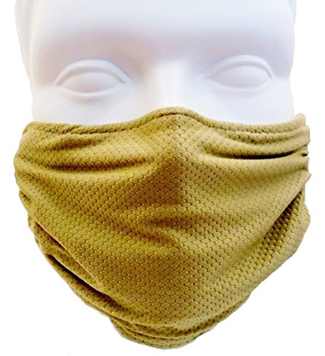 Breathe Healthy Honeycomb Olive Mask -Washable, Antimicrobial Seasonal Allergies, Construction Dust, Flu Mask, Dust/Allergy Mask
