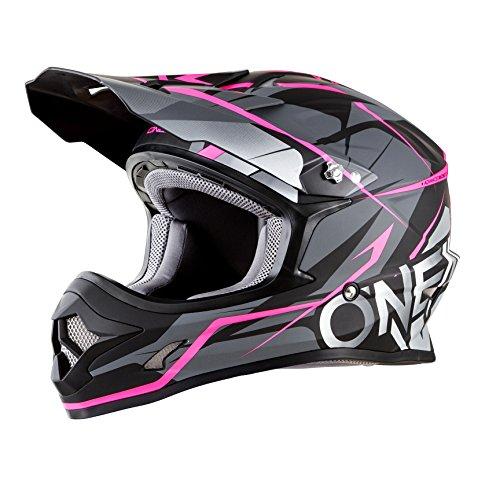 O'Neal Unisex-Adult Off-Road Style 3 SRS Freerider Helmet BLK/PINK L (Black, Large