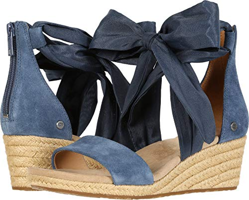 UGG Women's Trina Wedge Sandal, Desert Blue, 11 M US for sale  Delivered anywhere in USA