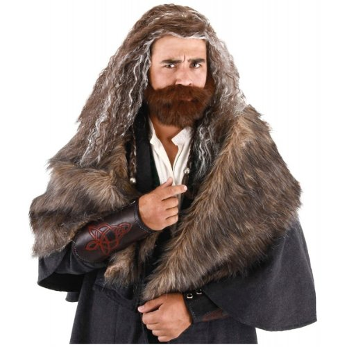 elope Lord of the Rings The Hobbit Oakenshield Beard and Wig Set]()