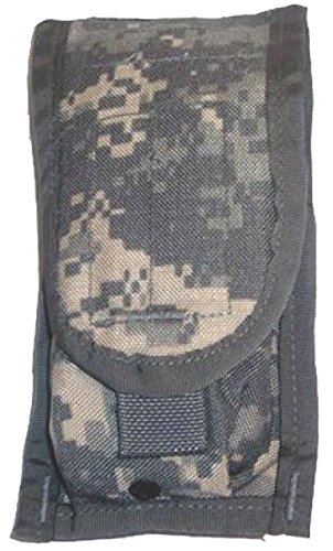 Military Outdoor Clothing Previously Issued US GI ACU Molle M4 Double Mag Ammo Pouch