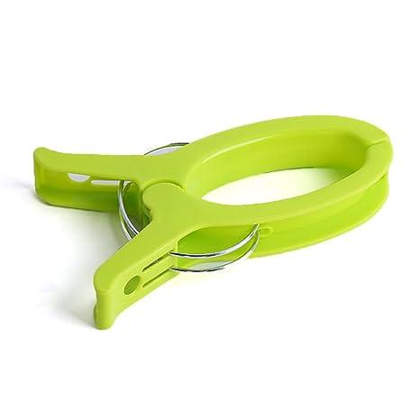 Tabanlly - Pinzas para Toallas, tamaño Grande, plástico, Gruesas, Antideslizantes, Resistentes