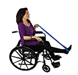 Blue Jay Get a Leg up 40'' Leg Lifter - Easy to Maneuver, Larger Lifter Loops, Strap Webbing – Manually Adjustable Leg Lifter to Fit Over a Cast Or Boot, Reinforced Rod – Leg Lifting Loop