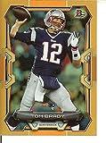 Football NFL 2015 Bowman Orange Rainbow #70 Tom Brady #d 27/50 Patriots
