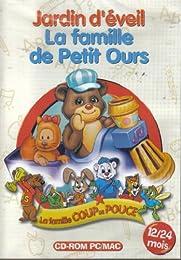 Jardin D'éveil - Mes 1er Clics Avec Petit Ours - La Famille De Petit Ours