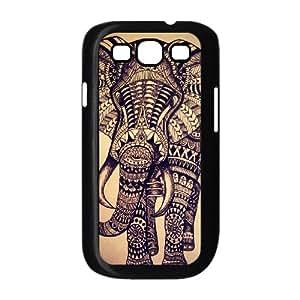 VNCASE Elephant Aztec Tribal Phone Case For Samsung Galaxy S3 i9300 [Pattern-1]