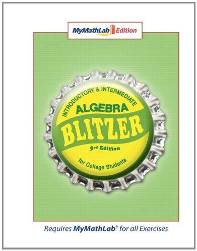 MyMathLab Edition (3rd Edition)