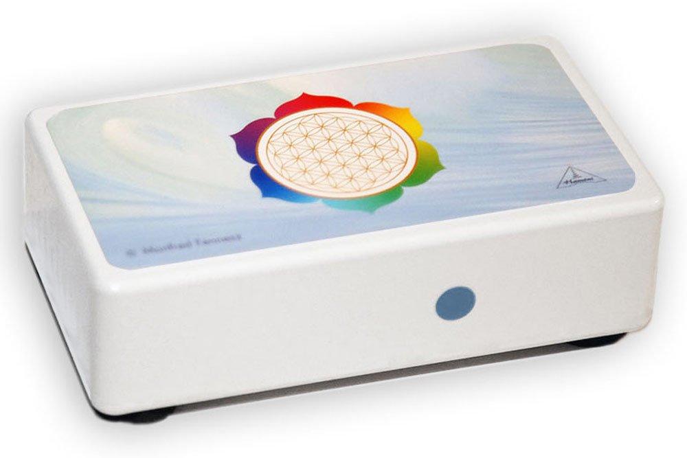 Hamoni® Harmonizer Beige: Protección altamente eficaz contra Contaminación Electromagnética, la Radiación del Teléfono Móvil,la radiación WLAN, ...