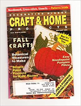 Decorating Digest Craft U0026 Home Projects (Sept/Oct 1992): Amazon.com: Books