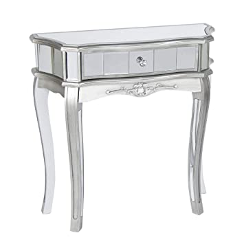 Melody Maison Gamme Tiffany Table Console Demi Lune Amazonfr