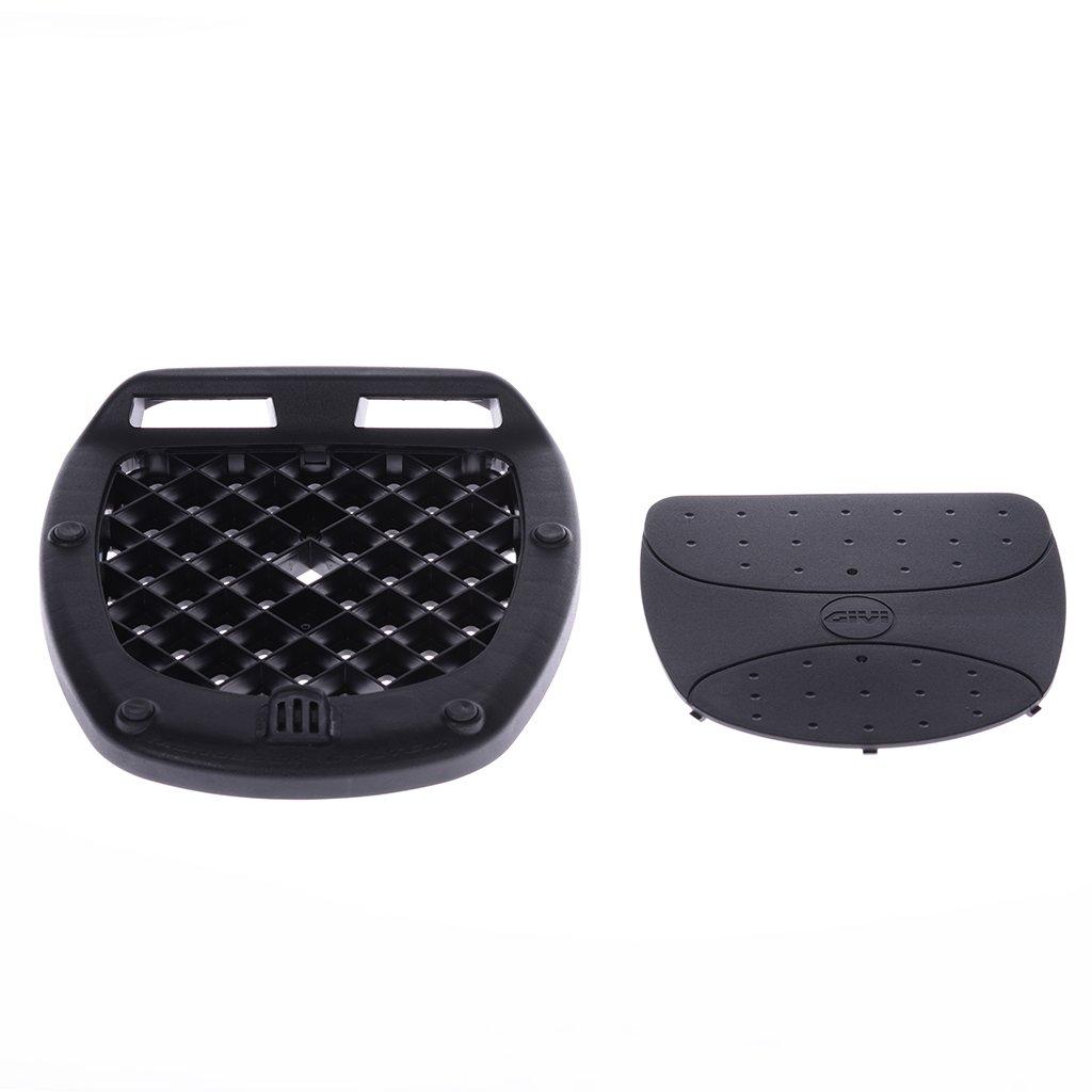 Top case givi e370 39 litres-noir-tech monolock avec cOVER-charge max 3 kg