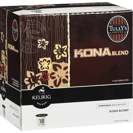Keurig Tully's Kona Blend Coffee