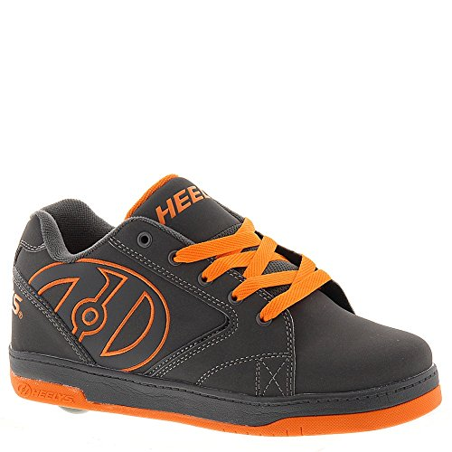 Heelys Boy's Propel 2.0 Fashion Grey Skate Sneakers Shoes Sz: 6