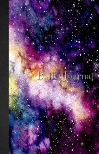 Bullet Journal: Watercolor and Marble - Galaxy -Notebook Dotted Grid ? 110 pages (5.5 x 8.5) soft cover glossy finish ? journal, planner, organizer, dot point pdf epub