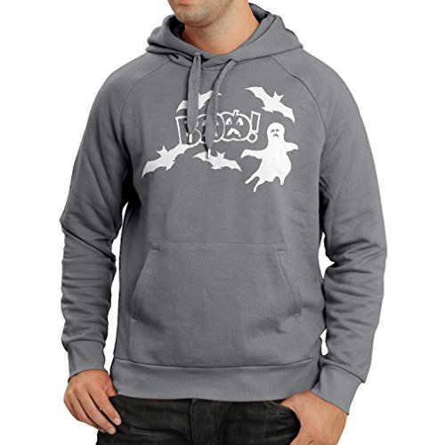 Hoodie BAAA! - Funny Halloween Costume Ideas, Cool Party Outfits (XX-Large Graphite Multi Color) ()