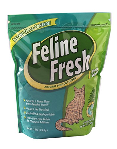 Image of Feline Fresh Pelleted Pine Cat Litter 7 lbs.