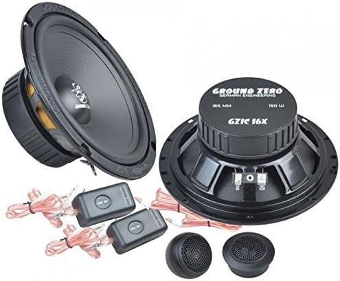 Ground Zero GZIC 16X Einbauset f/ür Audi A4 B5 Avant Heck JUST SOUND best choice for caraudio 16cm Lautsprecher System