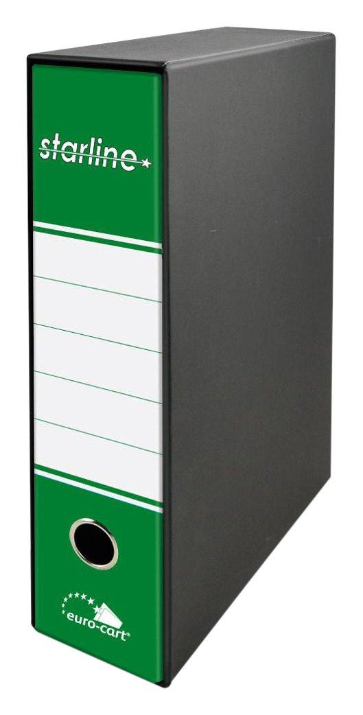 28.5 x 34.3 x 8 cm Euro-cart RLP8VL Raccoglitore con Meccanismo a Leva Verde Lime