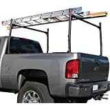 E-Autogrilles Universal Utility 500lbs Ladder Rack Adjustable Pick-Up Truck