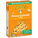 Cheap Annie's Homegrown Bunny Grahams, Honey, 7.5-Ounce Boxes (Pack of 12)