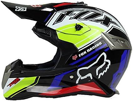 M, Noir Woljay Casques motocross Casque sport moto sport double sport Salet/é Bicyclette VTT