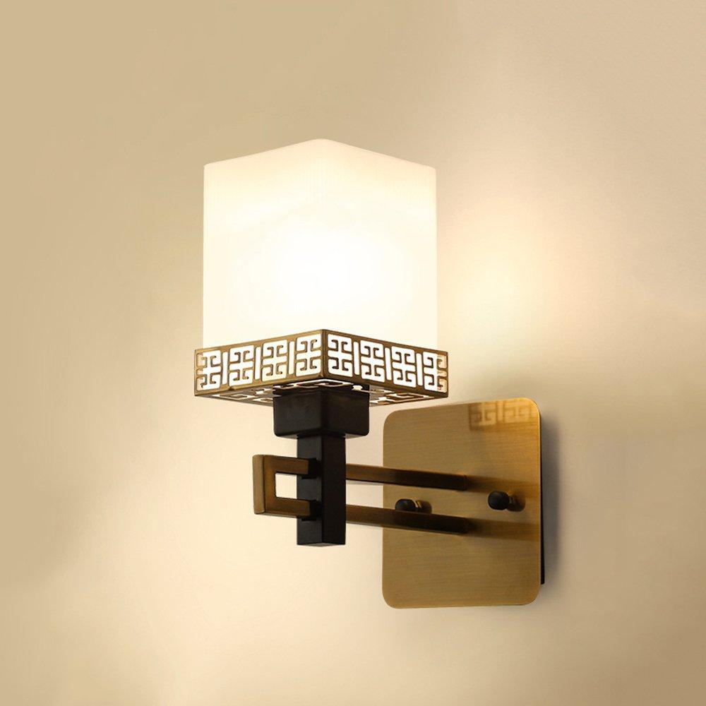 1411 Nuova Lampada da Parete in Stile Cinese Lampada da Comodino Camera da Letto Soggiorno Lampada da Parete Parete Retro Lampada da Comodino Creativo