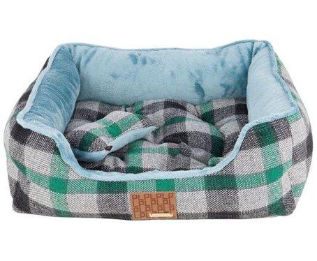 Puppia Paqd AU1472 Sawyer House Dog Bed (Green)