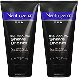 Neutrogena Men Skin Clearing Shave Cream - 5.1 oz - 2 pk