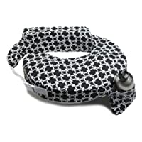 My Brest Friend Travel Pillow, Black and White Marina