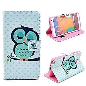 Galaxy Note 3 case,Creativecase Wallet Case For Note 3 N9000 Cases PU Leather and wallet design Case For Samsung Galaxy Note 3 Unqiue Print Wallet Case With Stand For Samsung Galaxy Note 3 N9000
