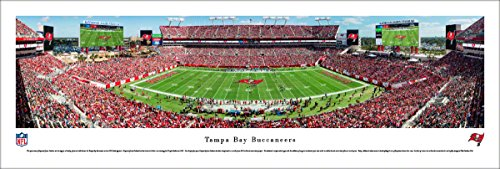 (Tampa Bay Bucaneers - Unframed 40 x 13.5 Poster by Blakeway Panoramas)