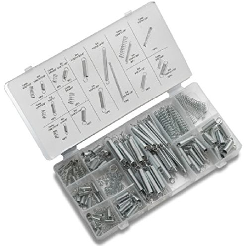 200 Pieces Spring Assortment Set Zinc Plated Steel Compression Carburetor Extension (Stratton Dresser)