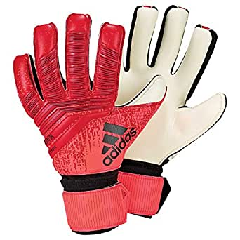 Adidas Pred League Goalkeeper Gloves (W/O Fingersave), Unisex Adult, unisex-adult, DN8575_11.5, Multicoloured (rojact / Black / Rojsol), 11.5