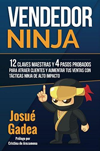 Portada del libro Vendedor Ninja de Josue Gadea