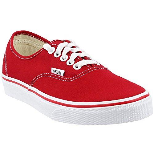 Vans Unisexe Erwachsene Sneaker Authentique, Rouge