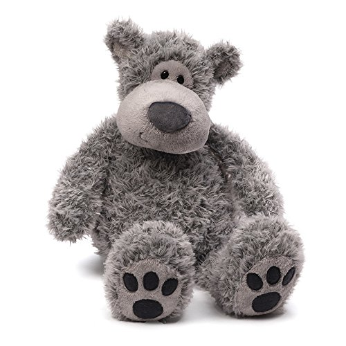 (GUND Slouchers Teddy Bear Stuffed Animal Plush, Gray, 20