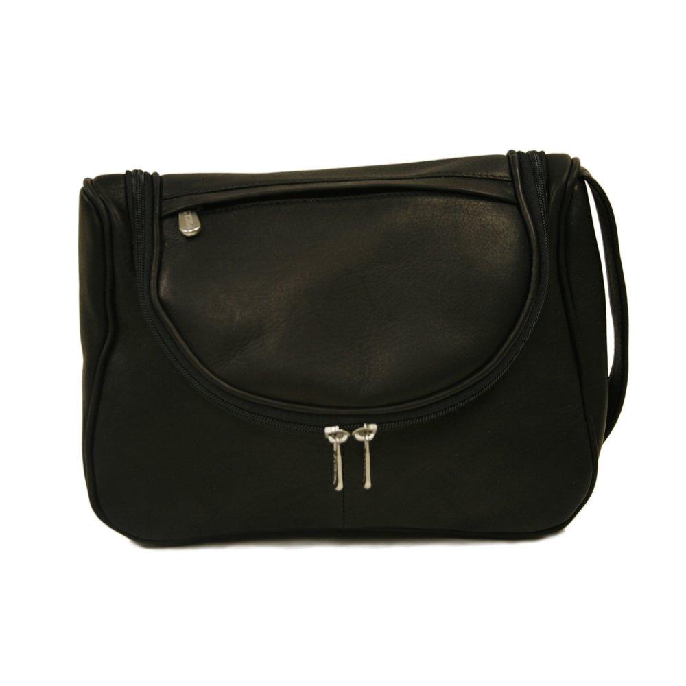 Piel Leather Hanging Utility Kit, Black, One Size