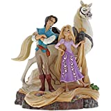Jim Shore Disney Traditions Tangled Carved by Heart Figurine 4059736